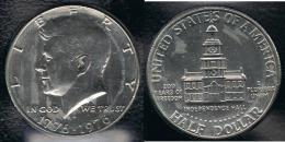 EE.UU.  USA HALF DOLLAR  1976 KENNEDY - EDICIONES FEDERALES