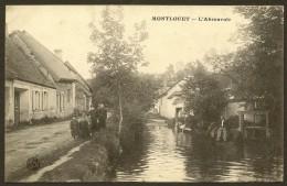 MONTLOUET Rare L'Abreuvoir () Eure & Loir (28) - Other Municipalities