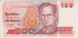 Thailand 100 Baht 1995 Pick 97 Sign74 UNC - Thailand
