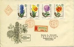 FDC Hongarije 1963 - Met Adres / Dichte Klep - FDC