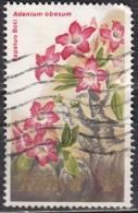 Kenia, 1983 - 2sh Adenium Obesum - Nr.255 Usato° - Flora