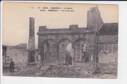 CPA ANDERNAY MEUSE LA MAIRIE RUINES   GUERRE 1914 - Altri Comuni