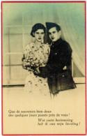 Postkaart Fantasie, Militair, Militaire, Wat Zoete Herinnering (pk20744) - Militaria