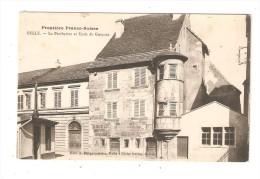 CPA : 90 - DELLE  Le Presbytère & Ecole De Garçons - Delle
