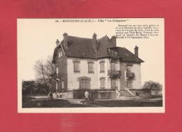 """* CPA..dépt 77..MONTHYON    :  Villa  """" La Grimpette """"..n°98   : Voir Les 2 Scans - Autres Communes"""