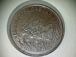 Gabon 100 Francs 1972 KM# 12 - Gabón