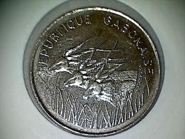 Gabon 100 Francs 1975 KM# 13 - Gabón