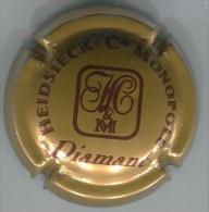 CAPSULE-CHAMPAGNE HEIDSIECK MONOPOLE N°58 Cuvée Diamant - Champagne