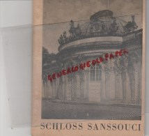 ALLEMAGNE- BEAU LIVRE SCHLOSS SANS SOUCI- BERLIN 1943- CROIX GAMMEE- GUERRE 1939-1945 - 5. Guerre Mondiali