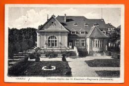 Hanau. Offiziers-Kasino Des III Eisenbahn-Regiments (Gartenseite). Feldpost Hanau. Février 1916 - Hanau