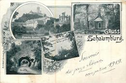 SCHAUMBURG OCCUPATION 1919 GRUSS - Schaumburg