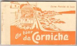 Carnet 13 Cpa (incomplet) Marseille, Un Tour De Corniche ( Tramway, Pont Des Auffes, Catalans, Prado, Pointe Rouge, ...) - Marseille