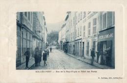 SOLLIES - PONT  -rue De La Republique Et Hotel Des Postes - Sollies Pont