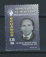 EC - 2005 - 2815 - ECUADOR - 1 WERT- EL MERCURIO - VALOR DE 2.25$ - MNH - POSTFRISCH - - Equateur