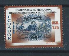 EC - 2005 - 2813 - ECUADOR - 1 WERT- EL MERCURIO - VALOR DE 1.25$ - MNH - POSTFRISCH - - Equateur