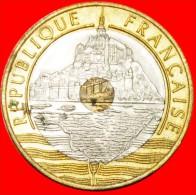 ★THE MONT SAINT-MICHEL: FRANCE★ 20 FRANCS 1993! COIN ALIGNMENT ↑↓ ! LOW START★ NO RESERVE! - France