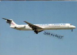 Nordic Leisur Airways Sweden MD-81 Airlines MD 81 Avion Svezia  Aviation Aiplane MD 81 - 1946-....: Era Moderna