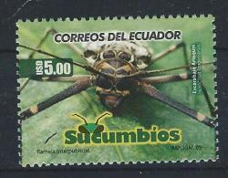 EC - 2009 - 3134 - ECUADOR - 1 WERT - INSEKT - ACROCINUS IONGIMANUS - SUCUMBIOS - MNH - POSTFRISCH - - Equateur