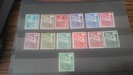 LOT 261394 TIMBRE DE FRANCE NEUF* N�106 A 118 VALEUR 65 EUROS