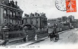 76 - DIEPPE - Les Villas Et Rue Aguado - Dieppe