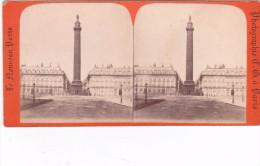 Vieille Photo Stereoscopique Le Nouveau Paris Avant 1900 - Stereoscopic