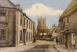 POSTCARD CHURCH STREET FROM THE WEST BICESTER OXON Z 18 - England
