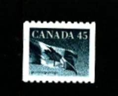CANADA - 1995  45c  FLAG  COIL  MINT NH - 1952-.... Regno Di Elizabeth II
