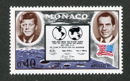 M-975  Monaco 1970  Michel #974** Offers Welcome! - Neufs