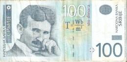 BILLETE DE SERBIA DE 100 DINARA DEL AÑO 2006 (BANKNOTE) - Serbia