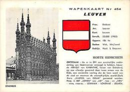 Belgium Wapenkaart Leuven Stadhuis - Belgique
