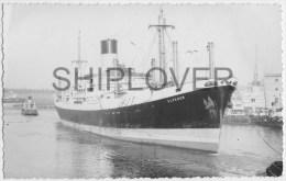 Cargo ELPENOR - Photo Ancienne Originale / Vintage Photo L.A. Baker - Bateau/ship/schiff - Bateaux