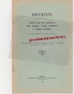 87 - SAINT JUNIEN- NOTES SUR LES ORIGINES DU MUSEES JEAN TEILLIET - LOUIS BONNAUS ET ROBERT DAGNAS- 1956 - Limousin
