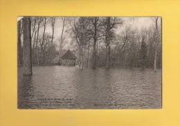 * CPA..dépt 77..NOYEN Sur SEINE  :  Le Parc Du Château Inondé  : Voir Les 2 Scans - Andere Gemeenten