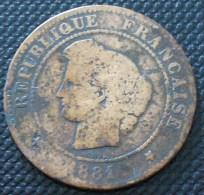 5 CENTIMES CERES 1881 A  A VOIR PETIT PRIX !!! - C. 5 Centimes