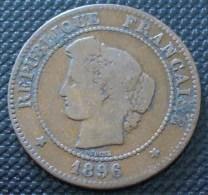 5 CENTIMES CERES 1896 A  A VOIR PETIT PRIX !!! - C. 5 Centimes