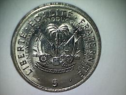 Haiti 5 Centimes 1975 - Haiti