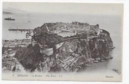 MONACO - LE ROCHER - N° 2 - CPA NON VOYAGEE - Monaco
