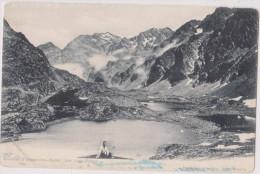 Carte Postale Ancienne,38,isere,pres URIAGE LES BAINS EN 1900,PRES Grenoble,lacs Robert,guide