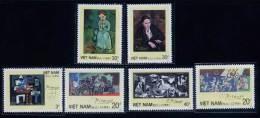 Vietnam Viet Nam MNH Perf Stamps 1987 : Art Painting Of Picasso (Ms533) - Viêt-Nam