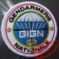 Ecusson Du GIGN Groupe D´Intervention Gendarmerie Nationale / Insigne Tissus / Patch / Brevet - Police & Gendarmerie
