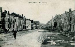 N°42913 -cpa Saint Mihiel  -rue Du Saulcy- - Saint Mihiel
