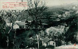 N°42920 -cpa Fermanville -paysage Pris En Chemin De Fer- - Otros Municipios