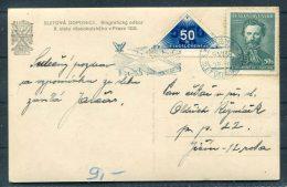 1938 Sletova Dopisnice Praha Prague Youth Sports Parade Postcard - Czechoslovakia