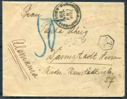 1928 Russia USSR Postage Due Taxe Cover - Germany