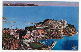 MONACO - N° 299 - LE ROCHER ET LE STADE LOUIS II - Mónaco