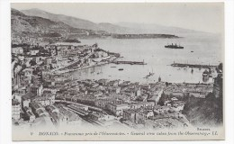 MONACO - N° 9 - PANORAMA PRIS DE L' OBSERVATOIRE - Mónaco