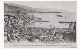 MONACO - N° 9 - PANORAMA PRIS DE L' OBSERVATOIRE - Monaco