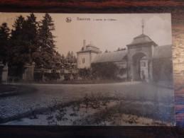 Bassines : L�entr�e du ch�teau - Ed: G. Floymon-Deville, Boi-Borsu  - Circul�:1909