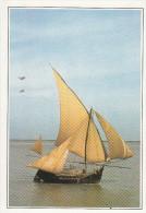 Bangladesh - Bateau à Voile Sur Le Delta Du Gange -  L'histoire Est Présentée Au Verso De Cette Carte Fiche - Bangladesh