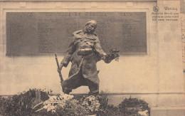 Wervik, Wervicq, Mémorial 1914-18 Avec Palmarès Comprenant 102 Noms Héroiques (pk19573) - Wervik